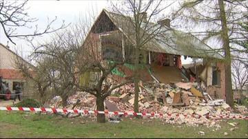 11-04-2016 14:27 Wybuch gazu w Borkach k. Konina. Dom do rozbiórki