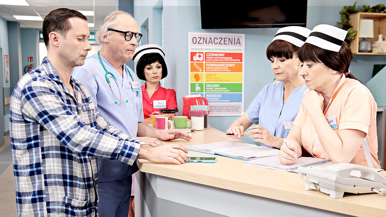 """""""Daleko od noszy - Reanimacja"""" - odcinek 9: Pacjent Roku - Polsat.pl"""