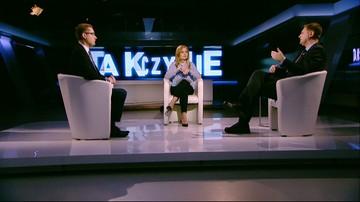 """30-01-2017 22:40 """"To co robi minister Antoni Macierewicz, to dewastacja polskiej armii. Rozenek w """"Tak czy Nie"""""""