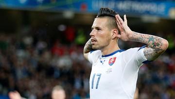 15-06-2016 16:55 Piękny gol Hamsika. Słowacy dwukrotnie skarcili Rosjan