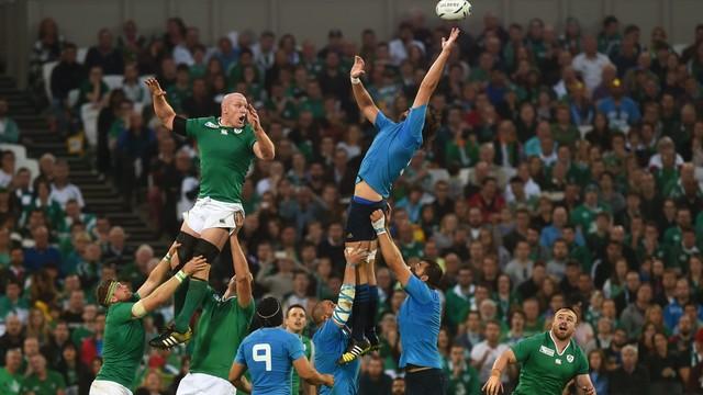 PŚ w rugby - Irlandczycy i Francuzi pewni miejsca w ćwierćfinale