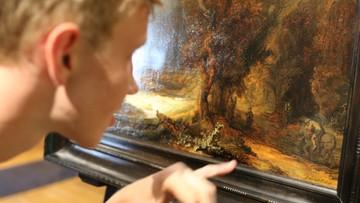 """22-07-2016 20:03 W Krakowie można obejrzeć """"Krajobraz z miłosiernym Samarytaninem"""" Rembrandta"""