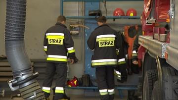 23-08-2017 18:27 Pożar w fabryce farb i lakierów w Dębicy. Jedna osoba trafiła do szpitala
