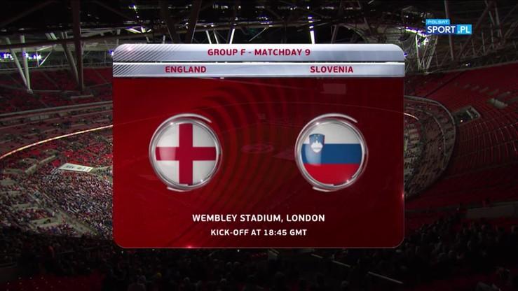 2017-10-06 Anglia - Słowenia 1:0. Skrót meczu