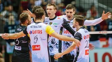 2016-11-11 Lotos Trefl Gdańsk - Cuprum Lubin. Transmisja w Polsacie Sport