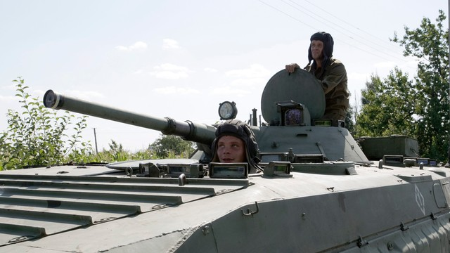 Ukraina: Separatyści mniej aktywni, ale atakują obiekty cywilne