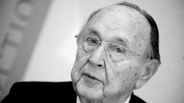01-04-2016 12:57 Zmarł były szef niemieckiej dyplomacji Hans-Dietrich Genscher