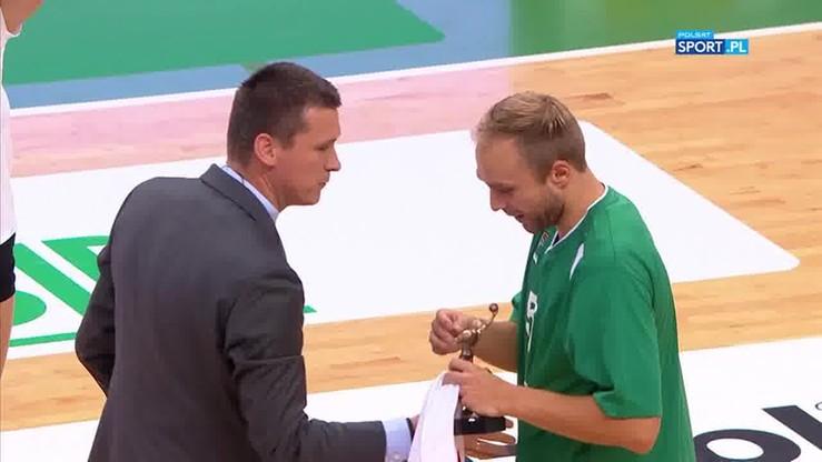 Koszarek nagrodzony za zdobycie 1000. punktów dla reprezentacji Polski