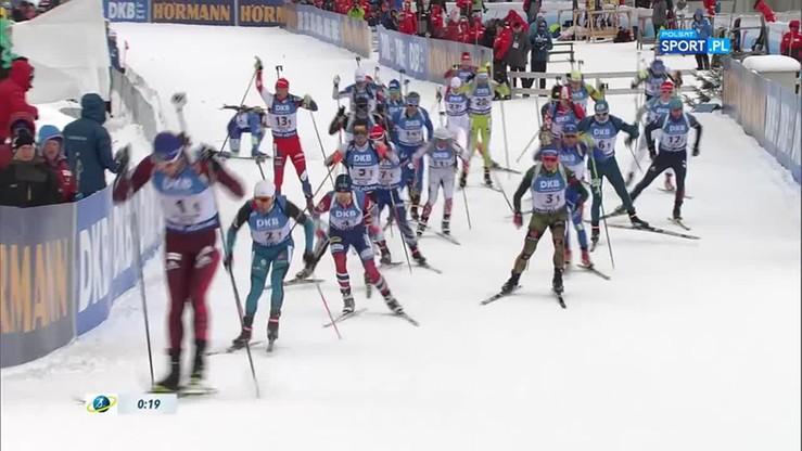 PŚ w biathlonie: Norwegowie najlepsi w sztafecie, Polacy zdublowani