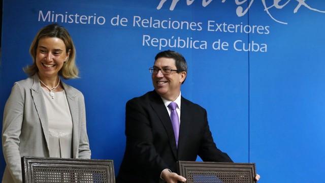 UE i Kuba podpisały nowe porozumienie w sprawie dialogu i współpracy