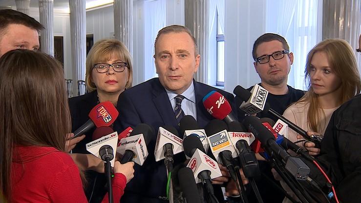 Schetyna: w piątek wniosek o wotum nieufności wobec rządu