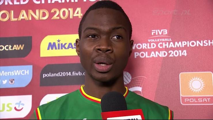 Kameruński siatkarz: Nie było na nas żadnego ciśnienia