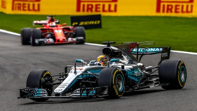 Formuła 1 - Lewis Hamilton wygrał w Belgii