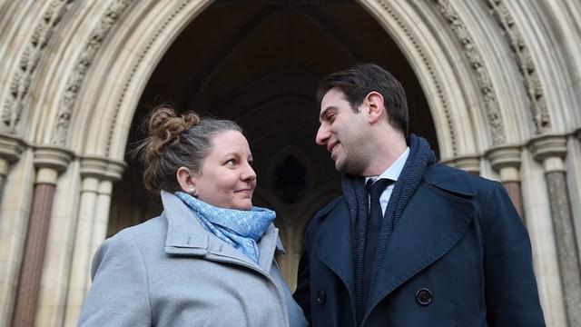 W. Brytania: Heteroseksualna para walczy o związek partnerski
