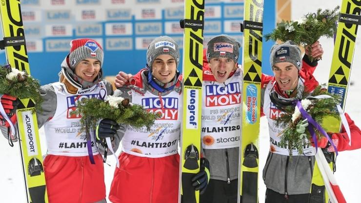 MŚ Lahti 2017: Polacy ze złotym medalem w konkursie drużynowym!