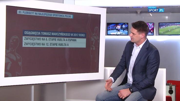 2017-12-11 Marczyński wrócił w wielkim stylu. Głosuj na polskiego kolarza w Plebiscycie PS