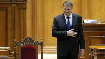 """07-02-2017 13:42 """"Nie róbcie z Rumunii pośmiewiska"""". Rumuński prezydent krytykuje rząd za kryzys, ale nie chce jego dymisji"""