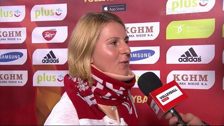 Natalia Czerwonka: Srebrny medal dla siatkarzy to za mało
