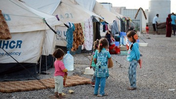19-10-2016 13:49 Powstaje obóz dla uchodźców z Mosulu. Z miasta może uciec do 400 tys. osób