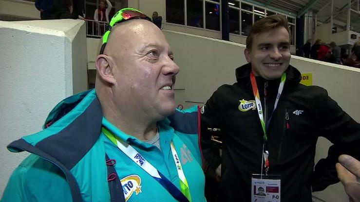 Złoty prezent urodzinowy trenera Kmiecika