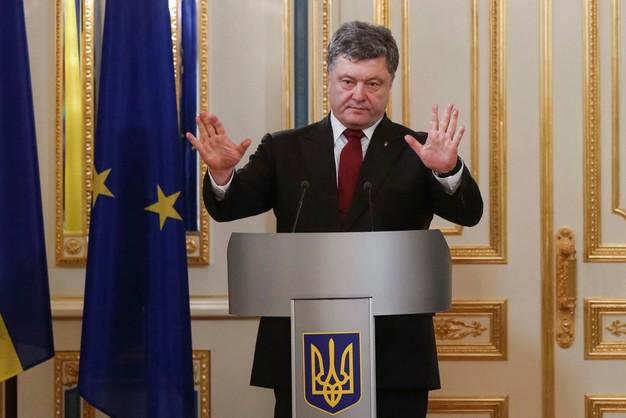 Poroszenko: Rosja nie będzie uczestnikiem misji pokojowej