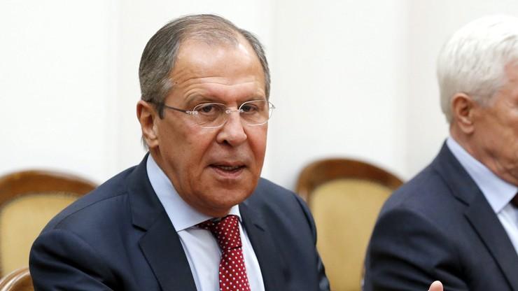 Ławrow: plany spotkania Rosja-NATO powinny być omówione z Moskwą