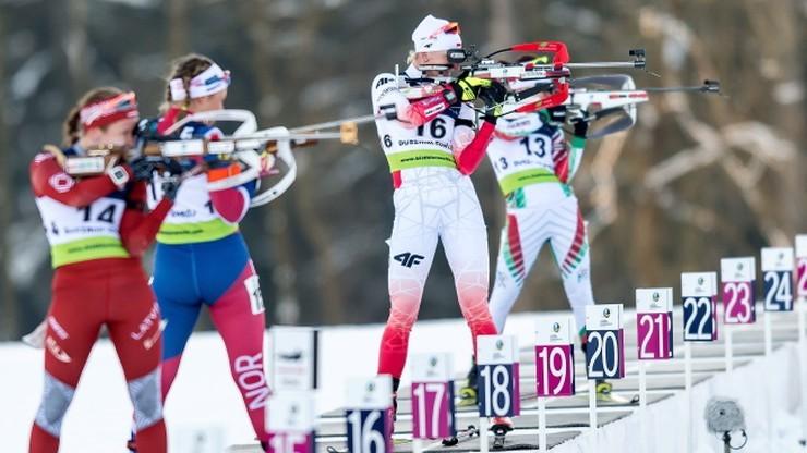 ME w biathlonie: Dominacja Rosji. Polska zakończyła z medalem