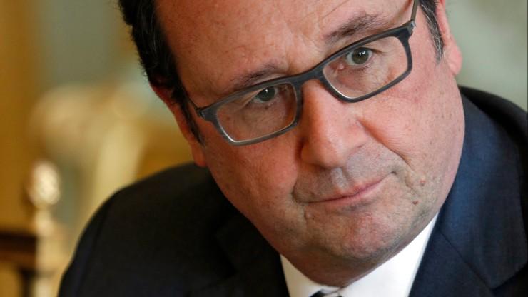 Druga tura wyborów prezydenckich we Francji w 2017 r. bez Hollande'a - wynika z sondażu