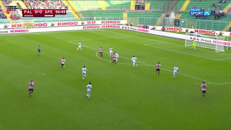 Palermo - Spezia 0:0 (4:5 rz.k.). Skrót meczu