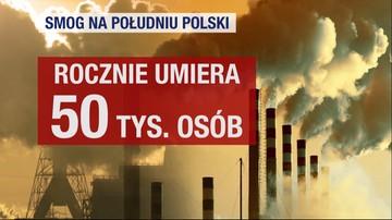 02-12-2017 20:18 Bardzo zła jakość powietrza nad częścią woj. śląskiego. Normy drastycznie przekroczone