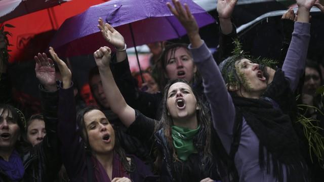 Argentyna: protesty przeciwko przemocy wobec kobiet