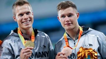 2016-10-31 Rio 2016: Medaliści z Niemiec nagrodzeni