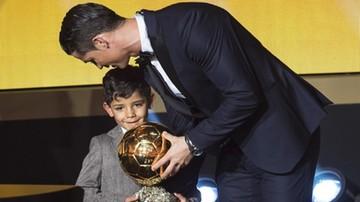 2017-11-17 Ronaldo chce mieć siedmioro dzieci i tyle samo Złotych Piłek