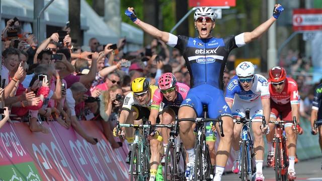 Giro d'Italia – Kittel wygrał 2. etap, Dumoulin nadal liderem