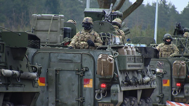 Amerykańska armia jedzie do Polski, aby wzmocnić flankę NATO
