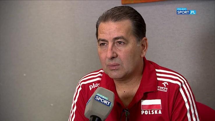 De Giorgi: Reprezentacja Polski wciąż jest w fazie przebudowy