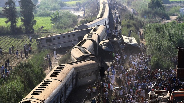 Egipt: Dymisja szefa kolei państwowych po katastrofie w Aleksandrii