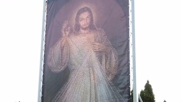 Obraz Jezusa ze zdjęć selfie w Łagiewnikach do połowy listopada