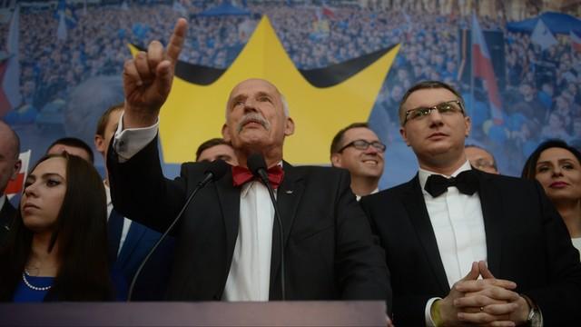 Partia KORWiN: bez naszego wsparcia nie będzie rządu