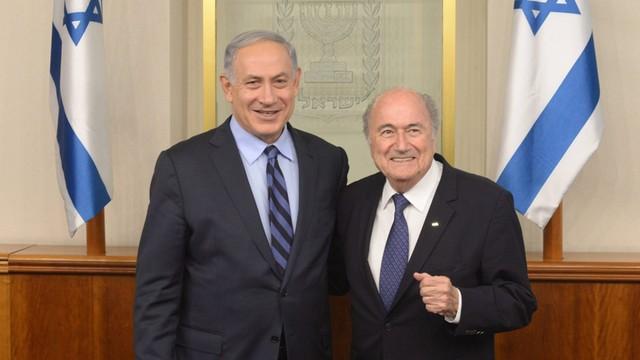 Blatter w pokojowej misji - chce meczu Izrael-Palsetyna