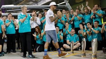 2016-11-28 Kierownictwo Mercedesa myśli o ukaraniu Hamiltona