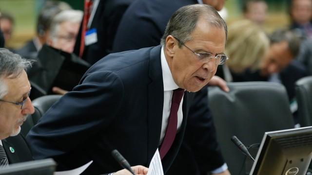 Ławrow rozmawiał telefonicznie z Kerrym i Mogherini na temat zestrzelenia rosyjskiego bombowca