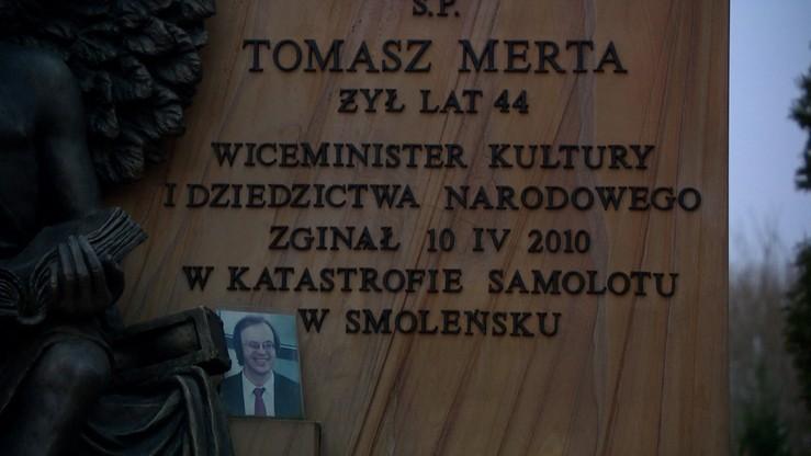 Powtórnie pochowano Tomasza Mertę. W czwartek pogrzeb Stefana Melaka
