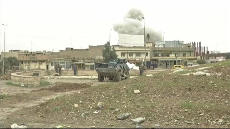 Irackie siły rządowe walczą z dżihadystami w Mosulu