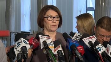 """06-12-2017 14:57 """"Opozycja traci czas"""". Rzeczniczka PiS ws. wniosku o wotum nieufności wobec rządu"""