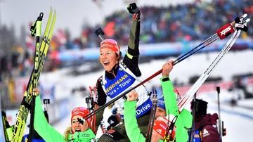 2017-02-19 MŚ w biathlonie: Dahlmeier nową królową biathlonu! Piąte złoto Niemki