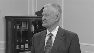 """27-05-2017 15:09 """"Był wybitnym Polakiem"""". Prezydent Andrzej Duda żegna prof. Brzezińskiego"""