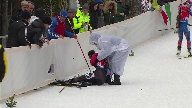 Biathlonowa kraksa! Gdzie się podziała narta Weroniki?