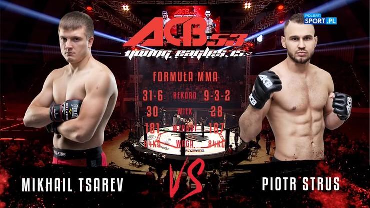 Piotr Strus - Michail Tsarev. Skrót walki