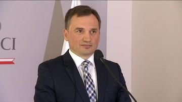 """""""Pokaz nonszalancji, chodzi tylko o politykę"""". Ziobro o odrzuceniu przez KE stanowiska Polski"""